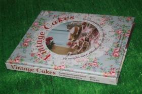 复古艺术蛋糕造型制作 Vintage Cakes 英文原版西餐书 样板房装饰外文真书