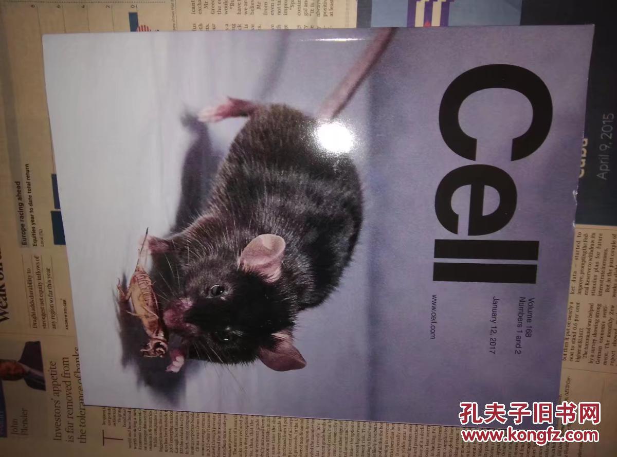 CELL (magazine)2017\/01\/12 细胞基因英文原版