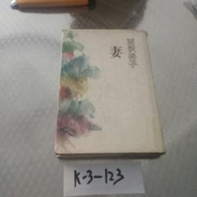 日本原版书《妻》(西沢裕子)