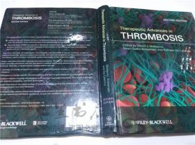 原版英法德意等外文书 Therapeutic Advances in Thrombosis David J.Moliterno,MD WILEY-BLACKWELL 2013年 16开硬精装