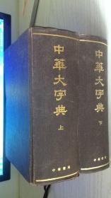 中华书局影印---中华大字典 上下册 缩印本全二册