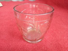 怀旧收藏 七十年代 玻璃罐 玻璃杯 葡萄图案 好品收藏