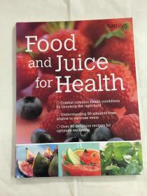 Food and Juice for Health 英文原版
