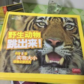 非洲动物跳出来+野生动物跳出来+雨林动物跳出来(3本合售)