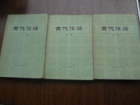 古代汉语   全三册   85品   见图   83年一版87年5印