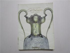 Sotheby's PROPERTY FROM THE COLLETION OF Carl DeSantis 苏富比 2011拍卖 (大16开)
