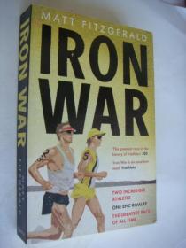 IRON WAR 铁人战争 (铁人三项) 英文原版 32开插图本 基本全新