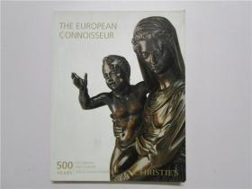 CHRISTIES DECORATIVE ARTS EUROPE LON 佳士得 2012 伦敦 欧洲装饰艺术拍卖 (大16开)