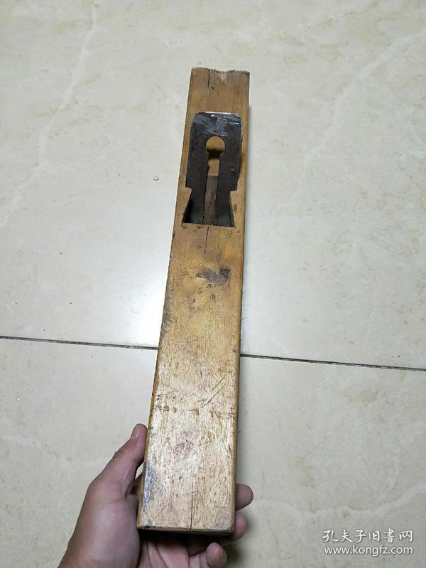 【包老包真】老木匠工具,大手刨子,老物件。难得一见,好木料,带刀刃.