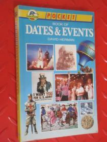 DATES  EVENTS  详见图片