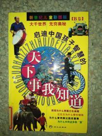 正版图书启迪中国孩子智慧的:天下事我知道(B卷)9787805938325