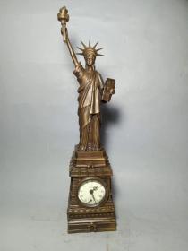 西洋人物钟表
