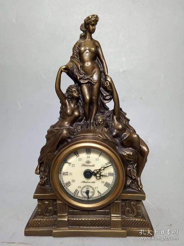 西洋美女钟表
