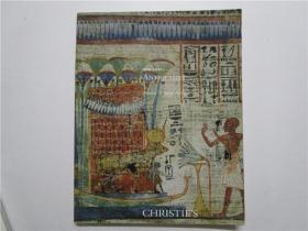 CHRISTIES NEW YORK ANTIQUITIES 佳士得 2012 纽约 古物拍卖 (大16开)