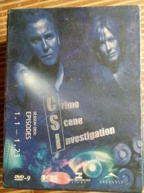 CSI狂罪现场鉴证第一季完整版(8DVD)