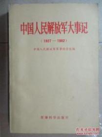 中国人民解放军大事记(1927 -1982)