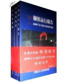 2011中国钢铁运行报告 2011信息资料 2011研究集萃 (3本一套 )