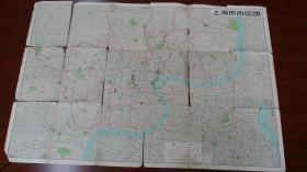 上海市交通图 1959