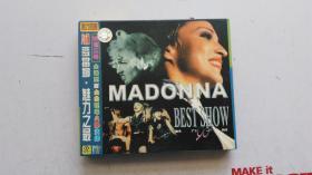 音乐光盘 VCD   麦当娜 --魅力之最  MTV 【双碟装】