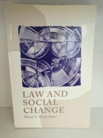法律与社会变革 Sharyn L. Roach Anleu:Law and Social Change  (法律) 英文原版书