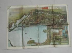 北京市颐和园万寿山   地图  1956年9月