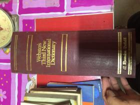 韦氏第三版新国际英语大词典WEBSTERS THIRD NEW INTERNATIONAL DICTIONARY