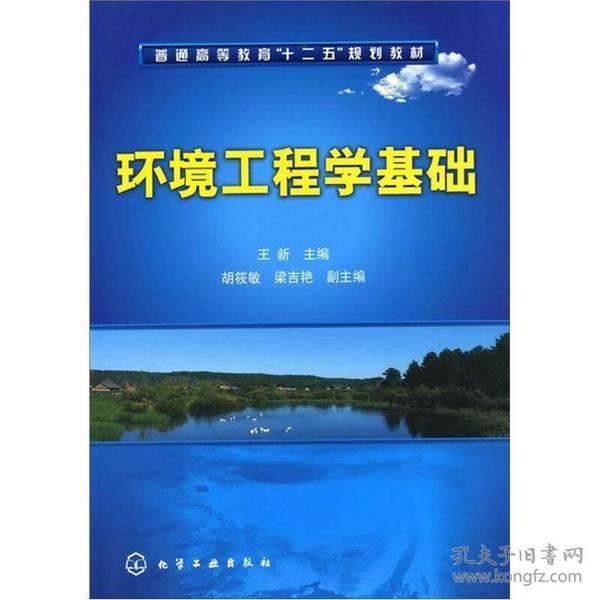 环境工程学基础 王新 化学工业出版社 9787122106070