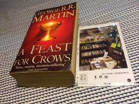 英文原版  A Feast for Crows ( book four of  A song of Ice and Fire ) 【存于溪木素年书店】