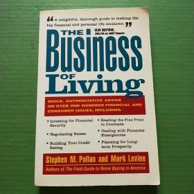 THE BUSINESS OF LIVING(16开)见图