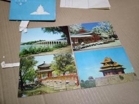 北京风景(2)明信片一套10张