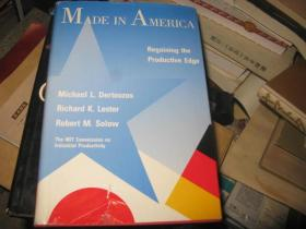 MADE IN AMERICA Regaining the Productive Edge