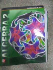 现货~ Algebra 2, Student Edition 9780076639908