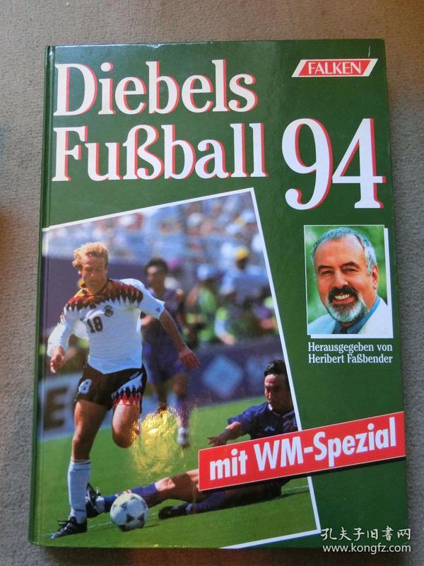 1994年世界杯足球画册