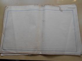 老纸头【60年代格子纸,34张】