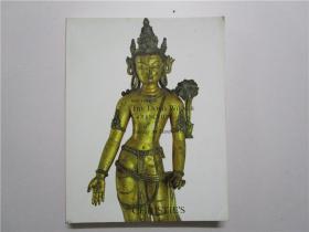 CHRISTIES NEW YORK THE DORIS WIENER COLLECTION 佳士得 2012 纽约的多丽丝维纳收集佛教艺术品拍卖 (大16开)