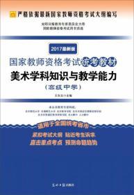 9787519413989美术学科知识与教学能力-2017最新版-(高级中学)