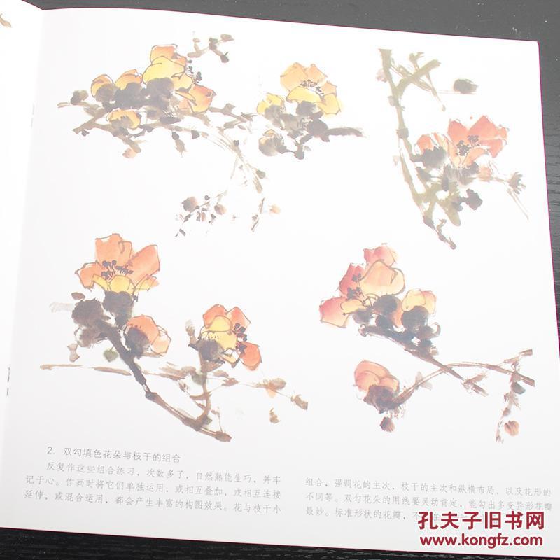学画宝典 木棉花 中国画技法 李多木 写意花卉画法 入门初学 临摹 绘画