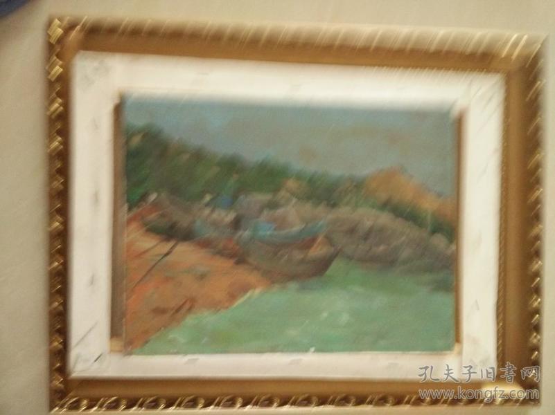30*38美院流出老油画。保证纯手绘。
