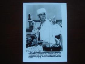 向科技高峰攀登 建国三十五周年重大科技成果集锦 (配合国庆宣传稿之二):19、中国农业科学院哈尔滨兽医研究所研究员沈荣显(新华社新闻展览照片1984年)