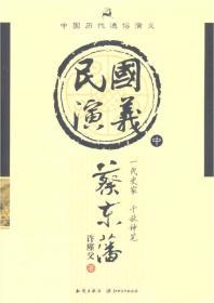 中国历代通俗演义:民国演义(中)