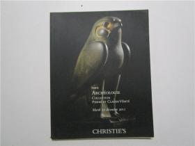 CHRISTIES PARIS ARCHEOLOGIE COLLECTION PIERRE ET CLAUDE  VERITE 佳士得 2011 巴黎考古学收集石头,克劳德的真理拍卖 (大16开)