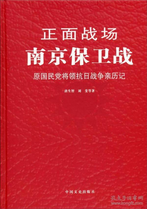 正面战场:南京保卫战