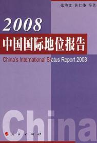 2008中国国际地位报告