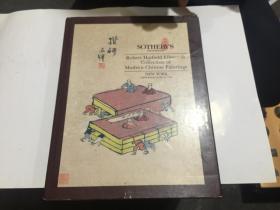 纽约苏富比 1993年6月16日 安思远藏中国近现代书画 丰子恺封面