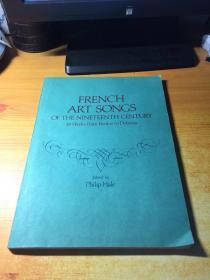 FRENCH ART SONGS OF THE NINETEENTH CENTURY(十九世纪法国艺术歌曲集.英文版)音乐