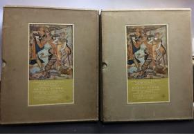 印度尼西亚共和国总统苏加诺工学士博士藏画集(一二合售)