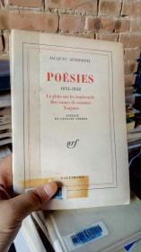 POESIES 1934-1943 La pluie sur les boulevards Des tonnes de semence Toujours