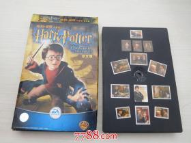 哈利波特 与密室 中文版(1张CD+一本书原盒包装,碟片有轻微画横,详见书影)