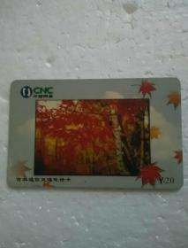 中国网通;吉林通信灵通电话卡