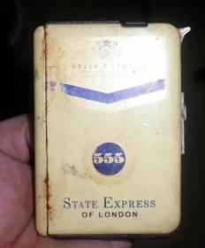 80年代,老三五烟盒